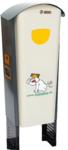 Hondenpoepbak DepoMat, 2 dispensers hondenpoepzakjes