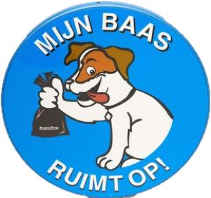Hondenpoep opruimen bord