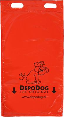 Rode Hondenpoepzakjes