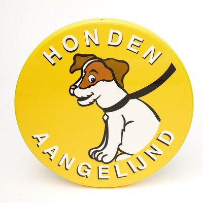Bord Honden Aangelijnd