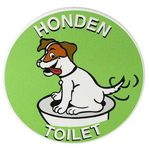 Hondentoilet verwijsbord