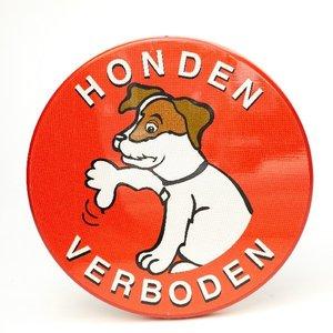 Verwijsbord Honden Verboden