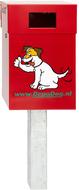 Hondenpoepbak DepoDog Rood